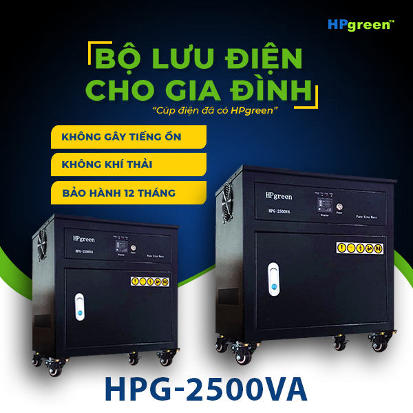 Bộ lưu điện cho gia đình HPG-2500VA