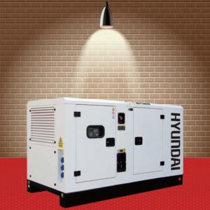 Máy phát điện Hyundai DHY-34KSE-3Pha