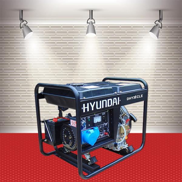 Máy phát điện Hyundai DHY-36CLE