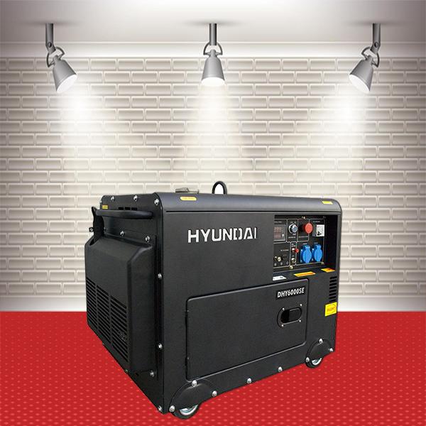 Máy phát điện Hyundai DHY-6000SE