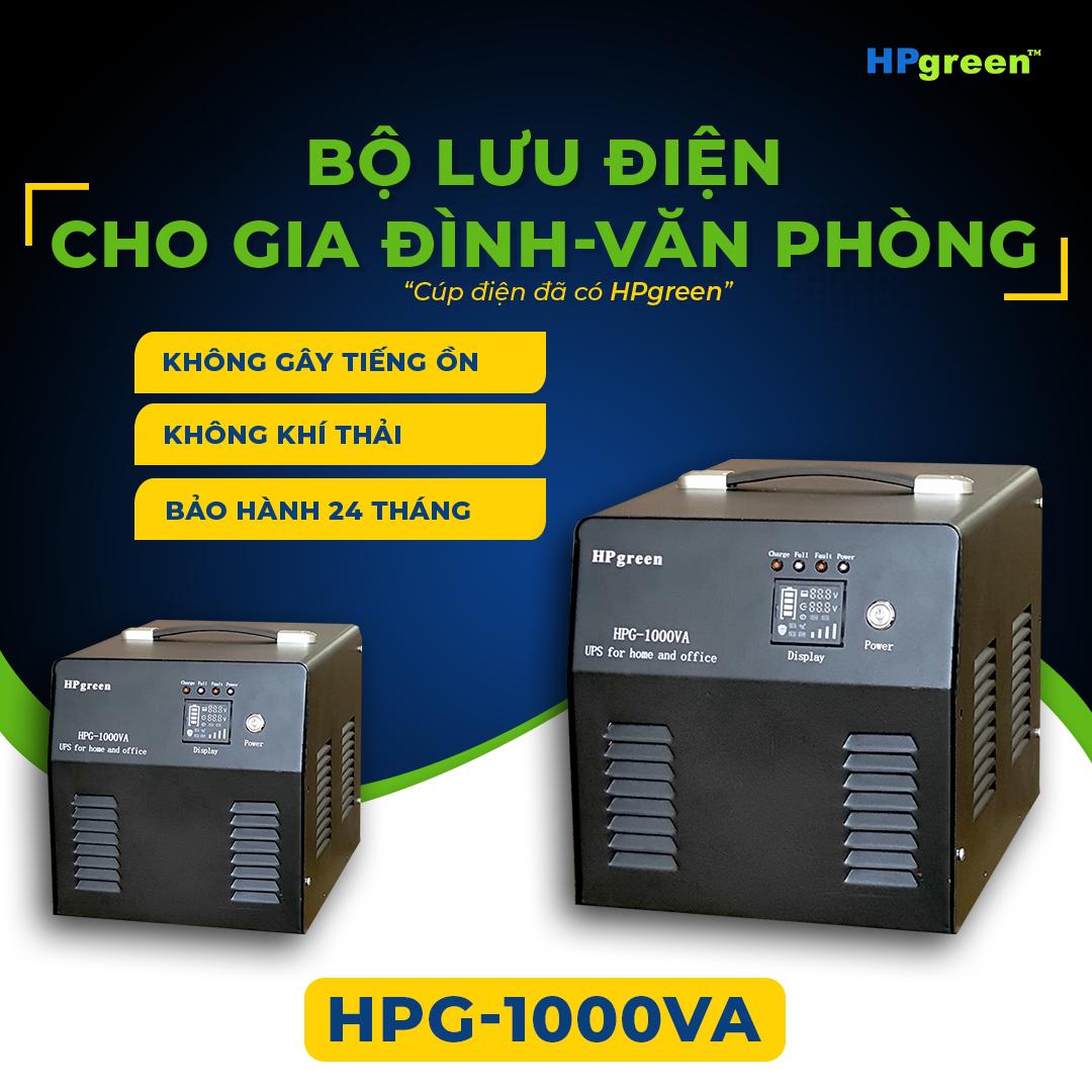 Bộ lưu điện cho văn phòng gia đình hpg-1000va